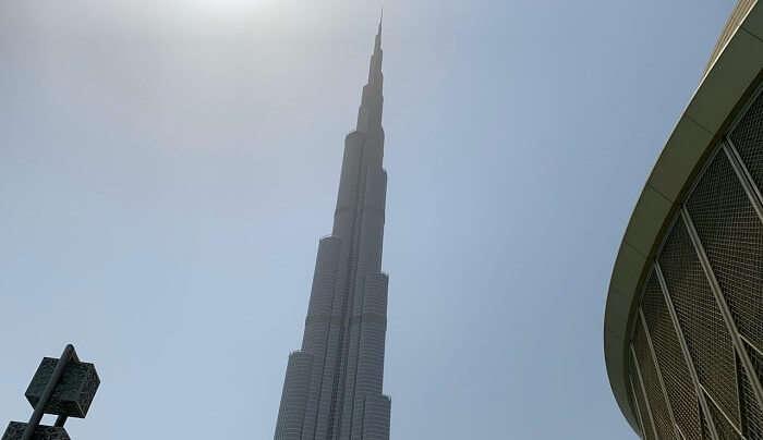 visit to the great Burj Khalifa