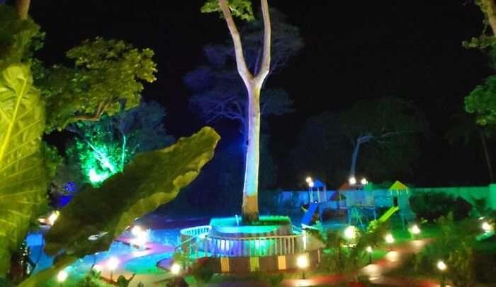 lighting resort