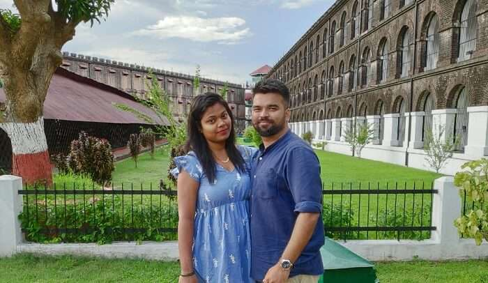 visited to the cellular jail