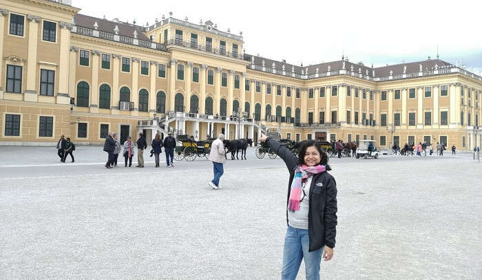 visited to the Schonbrunn Palace
