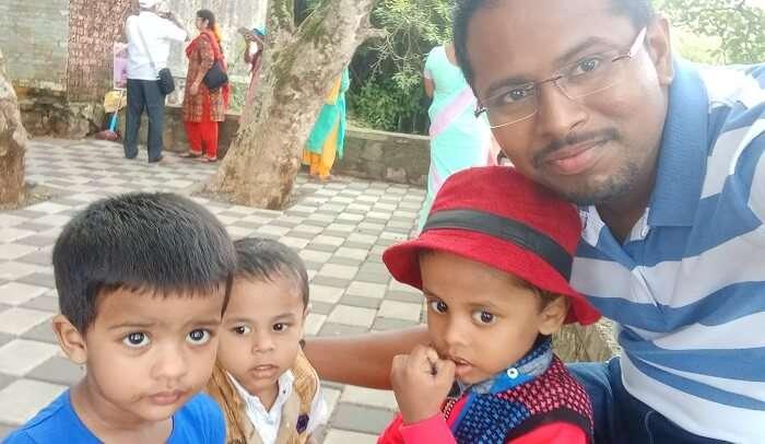 cherishing experience with kids