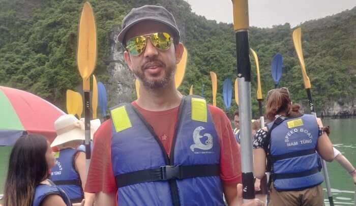 experience the kayaking