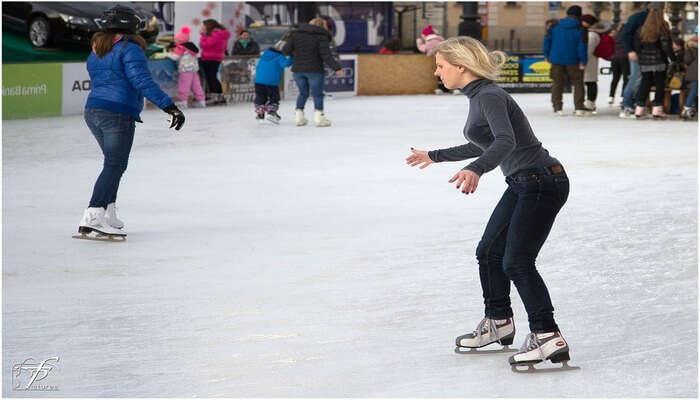 Ice Skating View