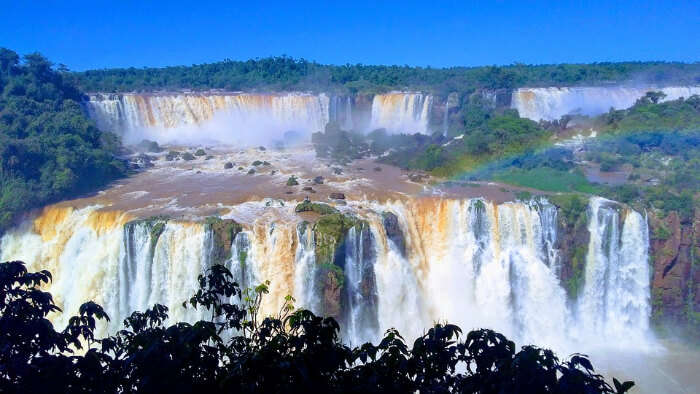 Beautiful Iguazu Fall in Argentina