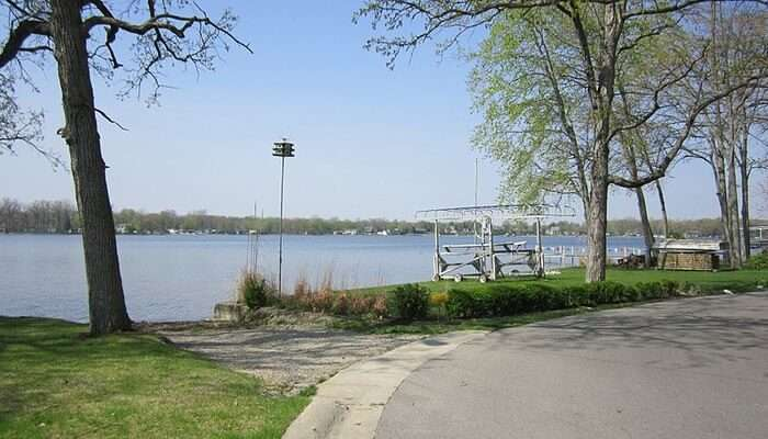Indiana Lakes - For A Bicycle Tour