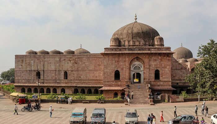 Dome Structure Jami Masjid in mandu