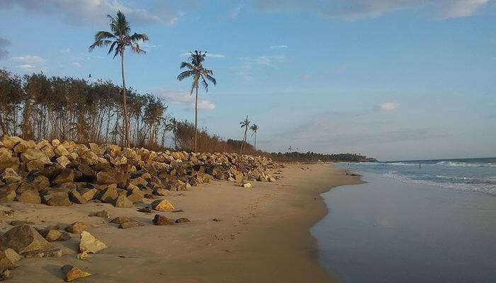 Kappil Beach in Kollam