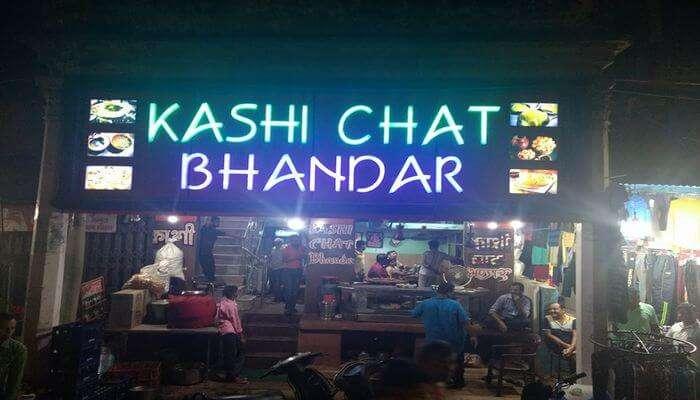 Kashi Chat Bhandar In Varanasi