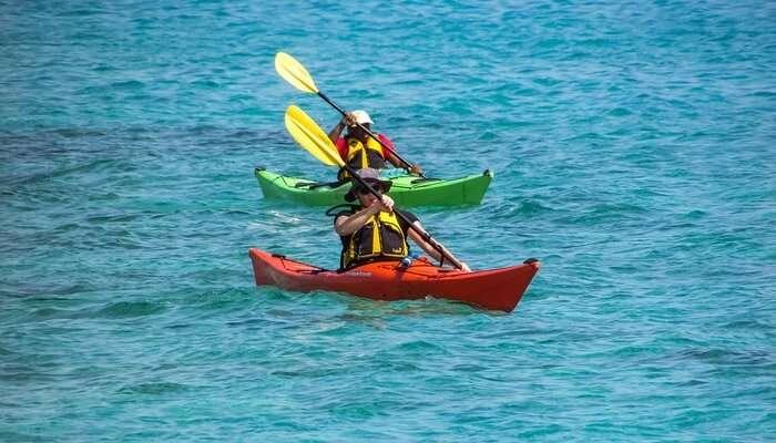 Kayaking View