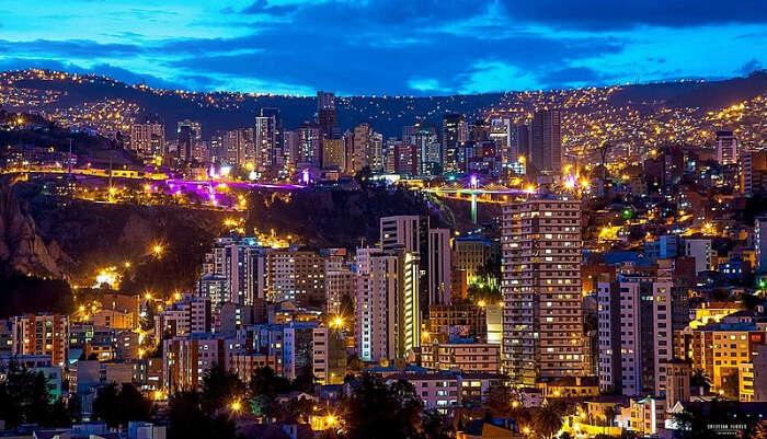 Metropolis Area of South America