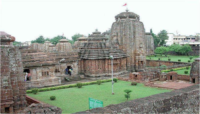 Lingaraja Temple View