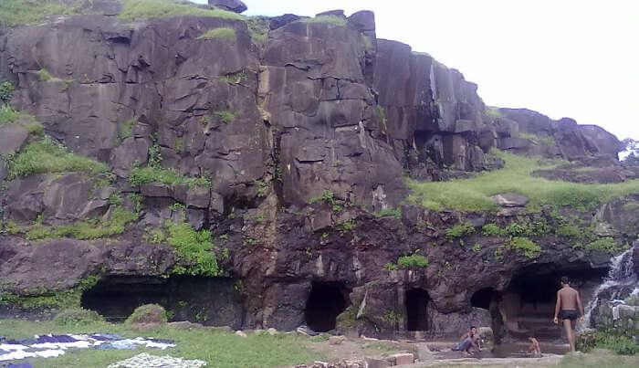 Famous Lohani Caves in Mandu