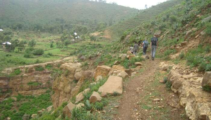 trekking in thane