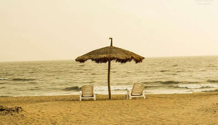 Mandvi Beach in Gujarat