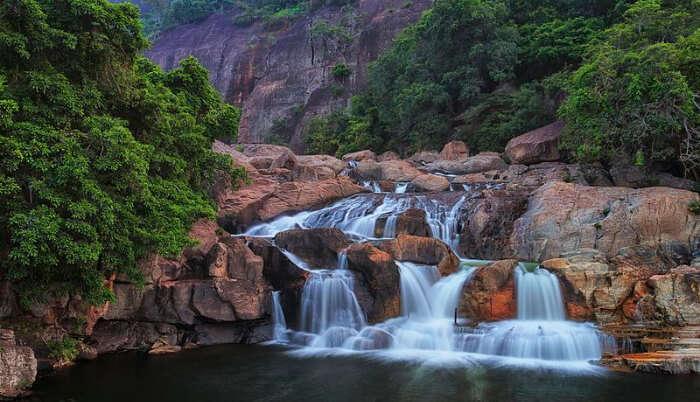 Marmala Waterfalls View