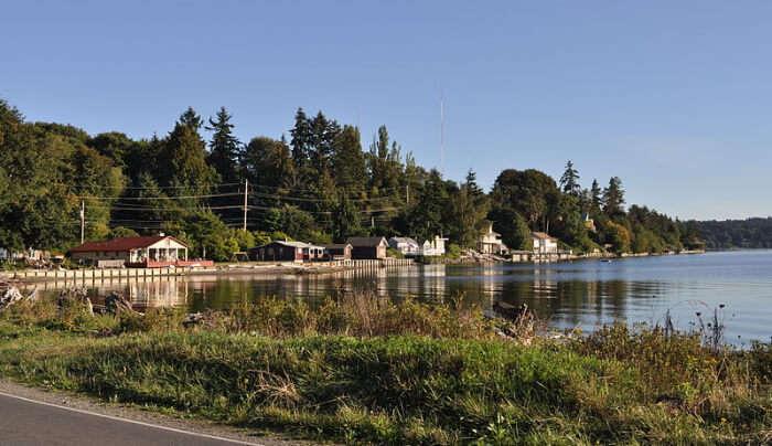 Maury Island in Seattle