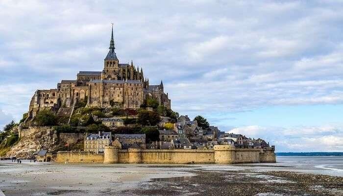 Mont Saint-Michel's view