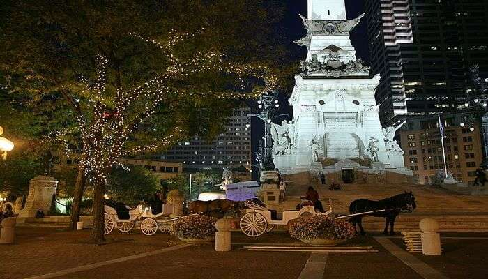 Monument Circle - Enlighten Yourself With The Heritage