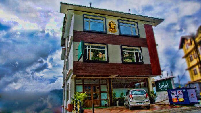 Muscatel Bellevue Hotel in Sikkim