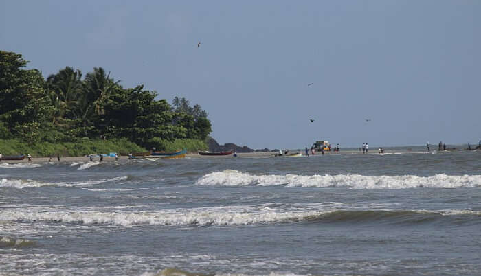 Muzhappilangad Beach in Alleppey