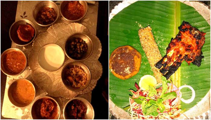 Non-veg Thali, Mohan Mahal, JWM