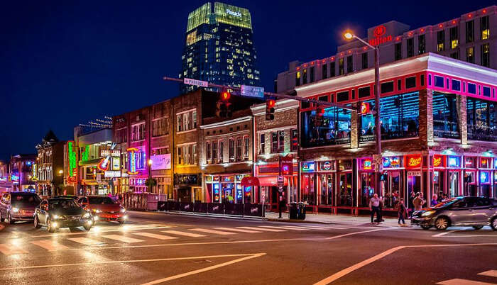 Nashville city in USA