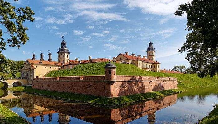 Nesvizh Castle in Nesvizh
