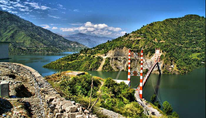 New Tehri District in Uttarakhand