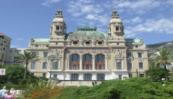 Beautiful Opera De Monte Carlo