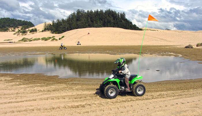 Dunes Recreational Area in Oregon