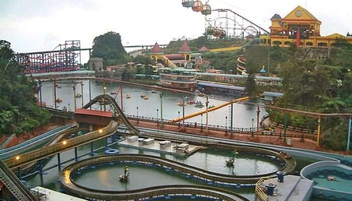 Outdoor Theme Park in Genting
