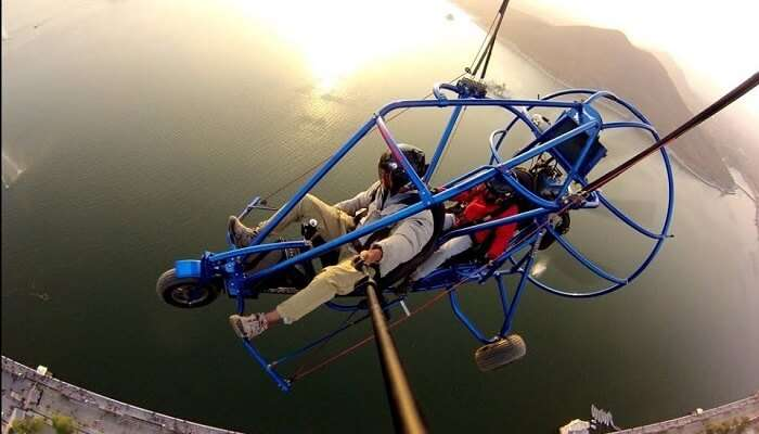 Paragliding in Udaipur