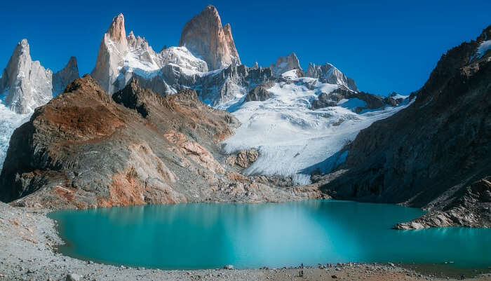 Scenic View of Patagonia in Argentina