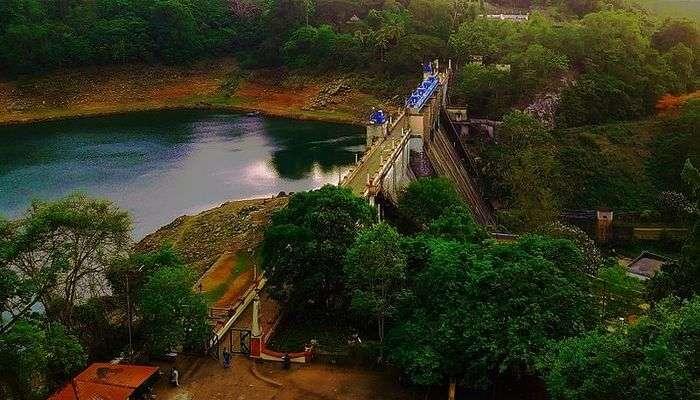 Peechi Dam's view