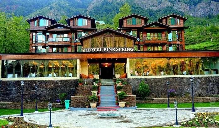 pine spring is hotel in pahalgam