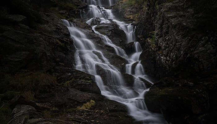 Pradhanpat Waterfall View