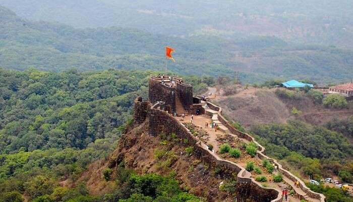 Pratapgarh Fort View