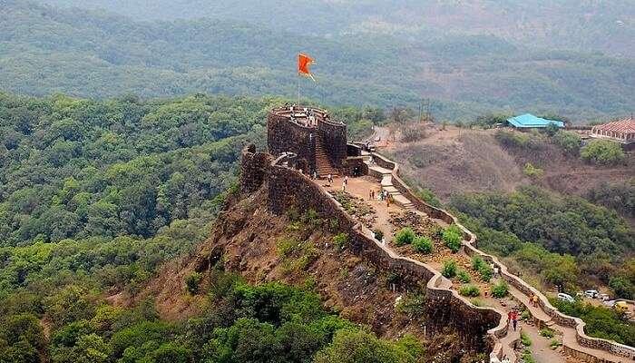 Forts in Satara