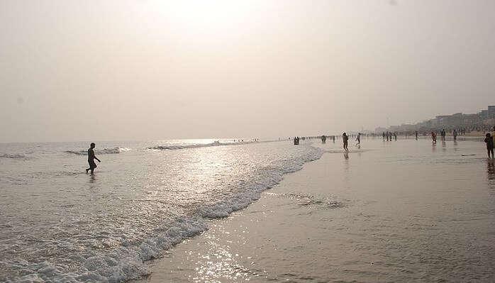 beach in puri