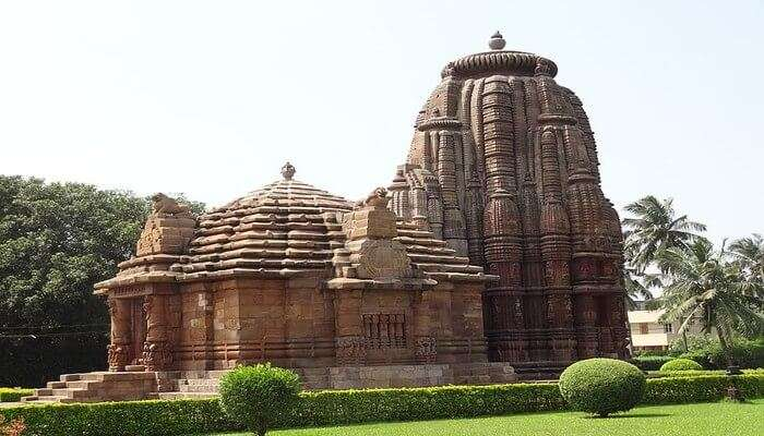 RajaRani Temple in Odisha