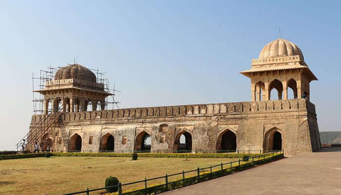 Pavilion of Rani Roopmati in Mandu