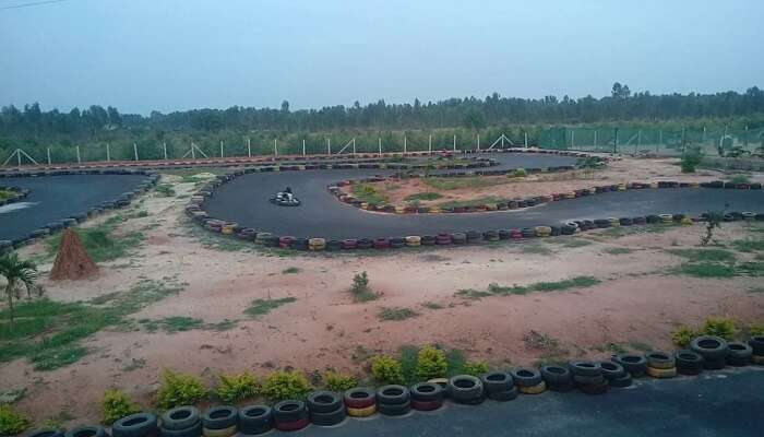 Red Riders Go Karting