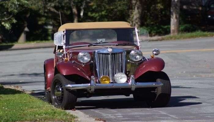 Amazing Ride In a Vintage Car