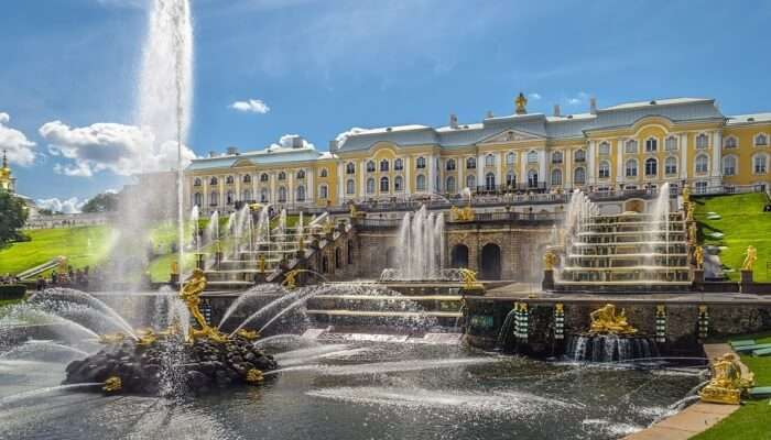 Royal Appeal in Peterhof