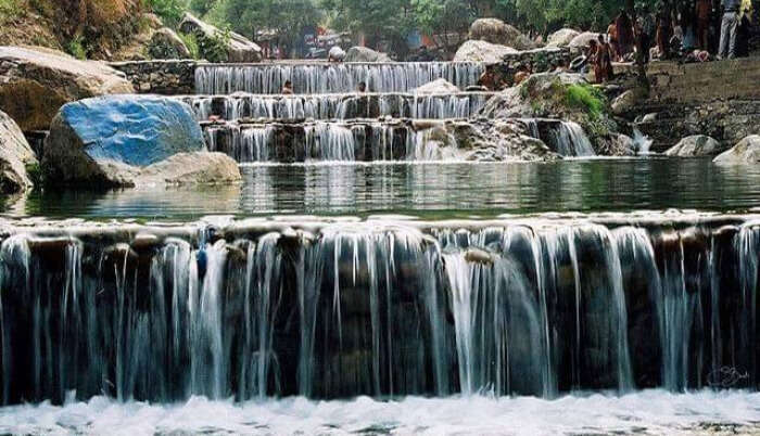 Waterfall in Sahastradhara