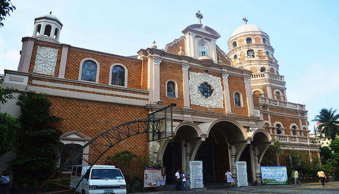 This is one of the oldest catholic churches built in the 17th century in Bangkok