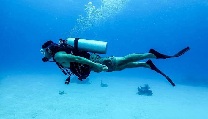 Enjoying Scuba Diving in Phuket