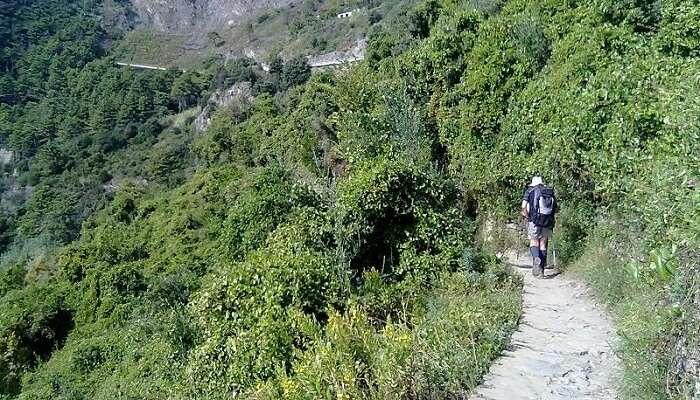 Sentiero Azzurro Hiking In Italy