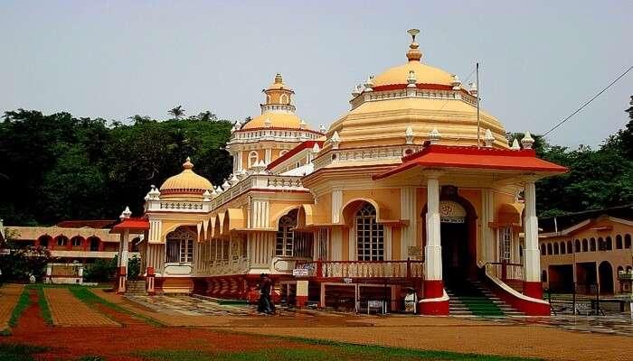 Religious place Shri Mangueshi temple