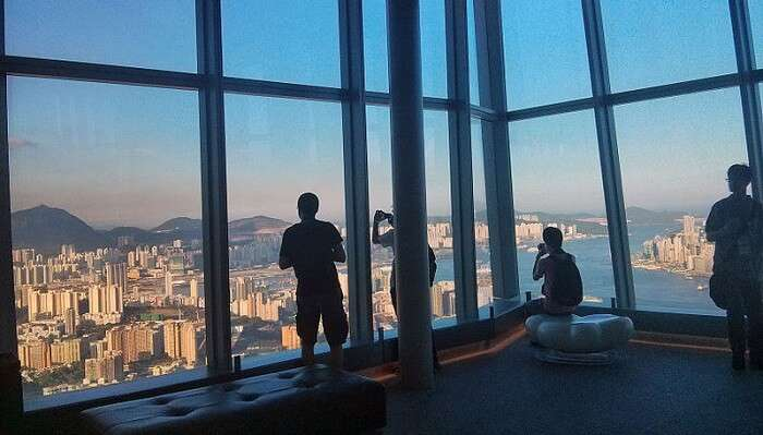 Sky 100 Hong Kong Observation Deck